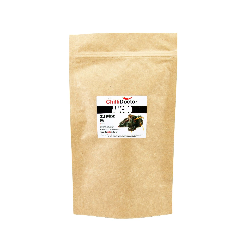 eeac19c1541 Celé sušené chilli papričky Ancho 30 g