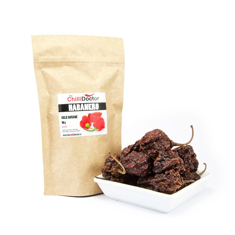 The ChilliDoctor s.r.o. Habanero celé sušené chilli papričky 10 g