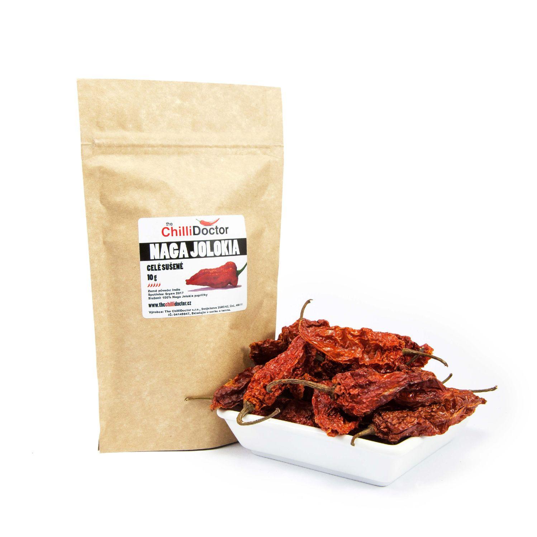 The ChilliDoctor s.r.o. Naga Bhut Jolokia sušené chilli papričky 10 g
