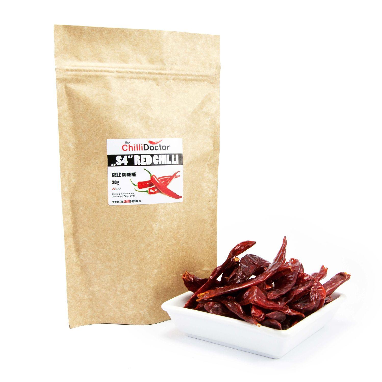 The ChilliDoctor s.r.o. Sušené chilli papričky S4 30 g