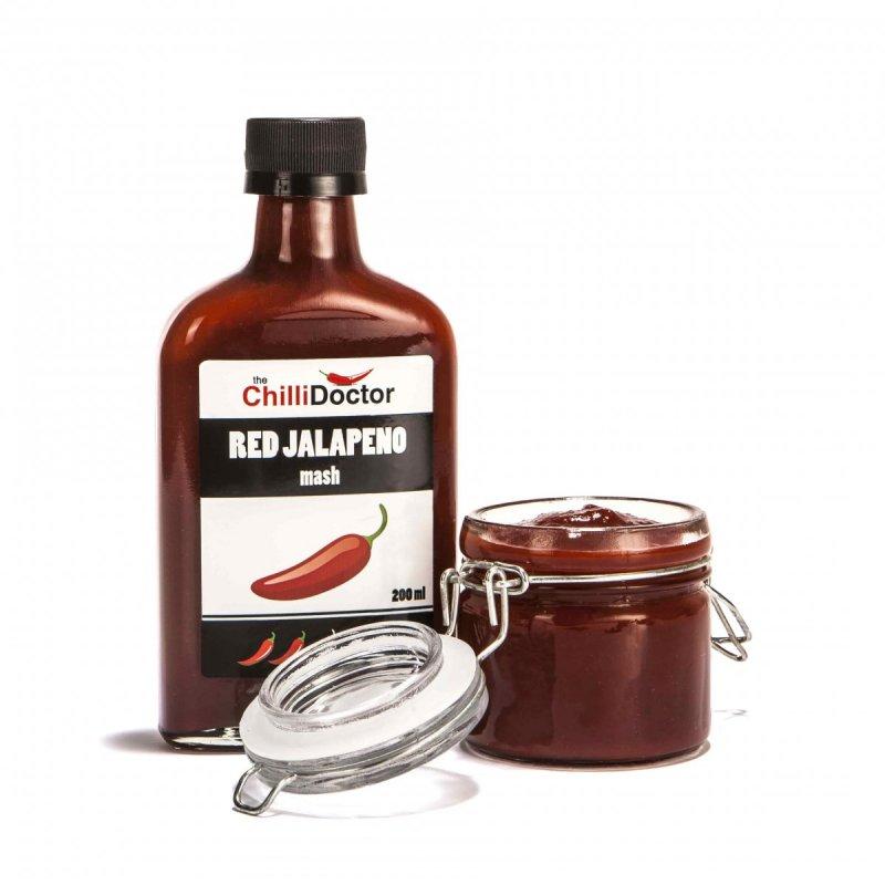 The ChilliDoctor s.r.o. Red Jalapeño mash 200 ml